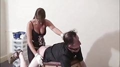 Mistress Kerry made fucking with strapon