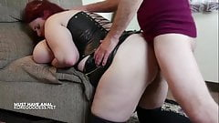 Massive tits bitch addicted to anal sex