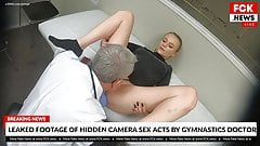FCK News - Blonde Teen Gymnast Fucked By Her Doctor