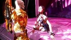 god of war 3 Kratos baisse avec Aphrodite