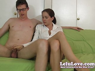 Full penis exercise demo - Lelu love-masturbation instruction handjob demo