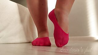 BBW Wide Feet Size 40 In Short Socks #5