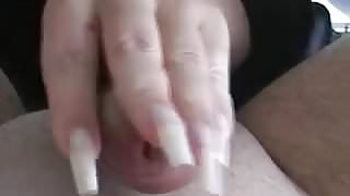 Clear Claws Scratching cock