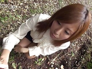 Pussy in air Chihiro akino shows pussy in the open air 2 - caribbeancom