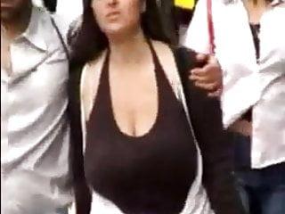 Candid huge boobs - Omg huge candid boobs