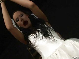 Sexy brides dresses - Sexy bride getting punished and fucked.mp4