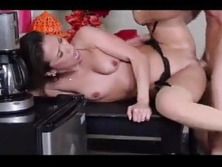 His cock throbbed tight slit Kalina ryu has her tight asian slit drilled on the table