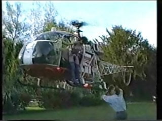 Flying fuck helicopter Rocco in a helicopter fuck