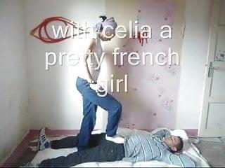 Black teen cock crushing Pretty french girl cock crushing