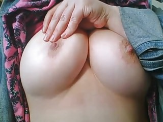 My loved shaved - Lovely tits and a sweet shaved pussy thicc thighs
