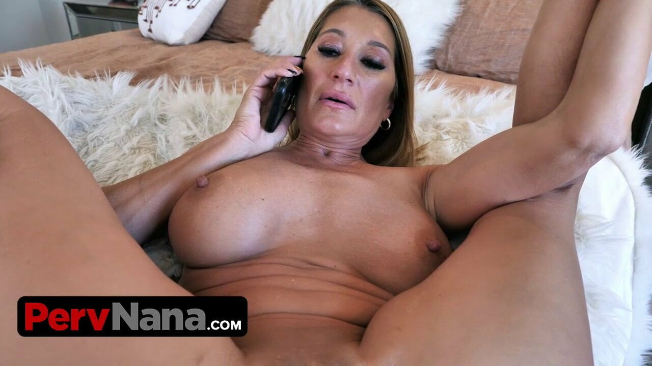 Big Titted Milf Lets Her Step Grandson Fills Her Pussy