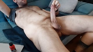 Jerking off with poppers