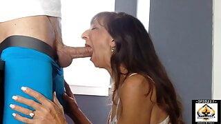 Sexy Milf Marie Close Up Big Cock Love