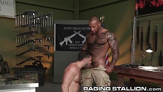 RagingStallion Hairy, Interracial & Straight Rugged!