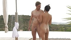 Soapy Massage With Asian MILF Babe