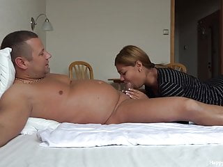 Blowjob at tube8 Morning blowjob at the hotel by jessica may