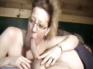 Blow job football Cock loving wife gives fantastic deep throat blow job