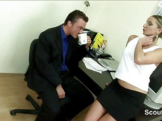 Boss secretary sexy roleplay stories - German sexy milf secretary fucks her boss at work