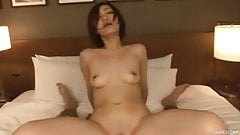 Perfect Japanese Nene strips gets toyed and eats dick