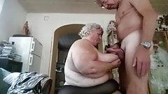 hubby fucks his big beautiful granny