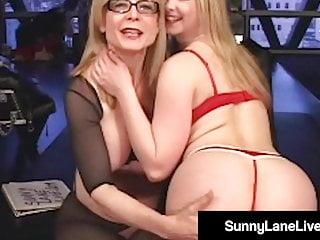Sunny lane porn eskimo - Little sunny lane gets pussy pleasured by gilf nina hartley