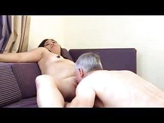 Lick my pussy granpa Lick my pussy