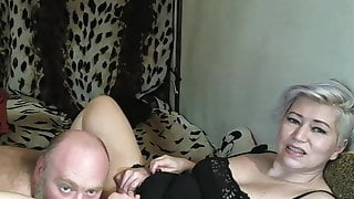 God sees, I love this bitch! .. Blowjob, hard sex close up..