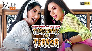 MilfVR - Threesome of Terror