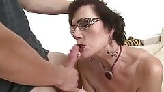 Hot milf and her younger lover 466