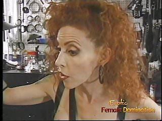 Spanked beauties - Beautiful brunette looker enjoys having some kinky bdsm fun