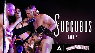 Slutty Stripper Takes 2 Cocks On Stage