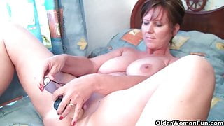 Step Mom needs to get off after watching online porn