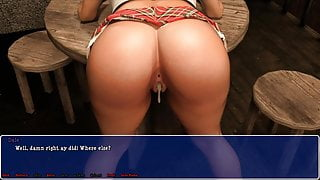 Lily of the Valley-Teen With Uniform Get Fucked In Bar