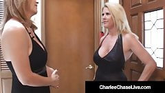 Beautiful Cougar Charlee Chase Fucks Dancer With Husband!