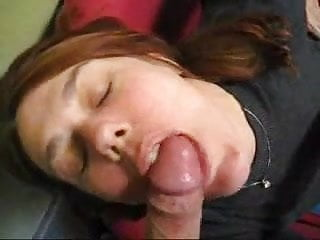 Every woman owns a dildo - Amazing how every woman looks pretty with cum on her face and lips and in her mouth