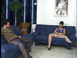 Boys in white briefs fetish - Granny in white stockings eats the boy