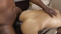 little Asian slut, a young boy, big dick black
