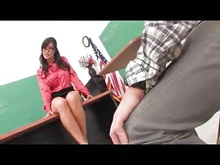 Lesbian busty teachers - Busty mature teacher seduce her student