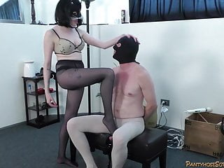 Bondage mistresses in northern california - Dominant pantyhose clad mistresses in femdom action