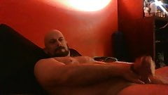 NOT Stepfather Jerks and cums on his bed