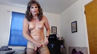 american brunette milf tranny
