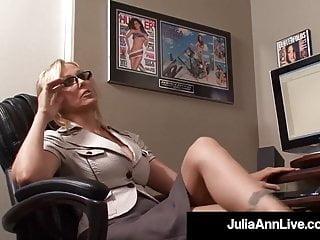 Australia in sex sex work worker - Office milf julia ann sucks on her co workers cock at work