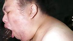 Perra gorda cerdo shino garganta profunda & irrumatio la bbc