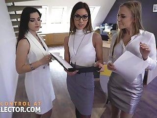 Hot in office sex Pov office sex with hot coworkers and busty bitch boss