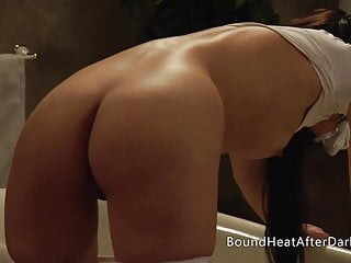 Beautiful lesbian orgasm - Beautiful lesbian brunette humps pillow and orgasms