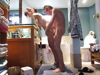 Maillot de bain vid o sex Salle de bain