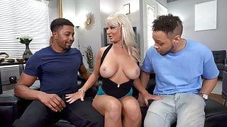 Big Black Cock Slut London River Wants Double Penetration