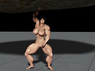 Jason law boulder gay Muscle girl lifting huge boulder animation