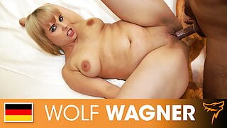 Babe Pina tests some toys & gets some cock! Wolfwagner.com