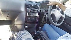 Female cab driver gave me a handjob